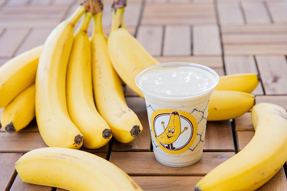 沖縄・那覇のバナナジュース専門店「BANANA BOON」 徹底した追熟・冷凍管理により、バナナを最高の状態でご提供